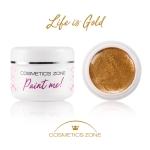 Farbka UV LED 5ml - Life is Gold
