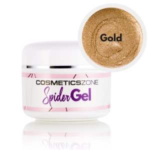 Cosmetics Zone Spider Gel Gold - 5ml