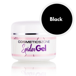 Cosmetics Zone Spider Gel Black - 5ml