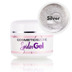 Cosmetics Zone Spider Gel Silver - 5ml