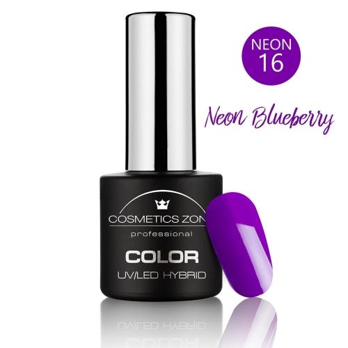 Lakier hybrydowy 7ml – Neon Blueberry N16