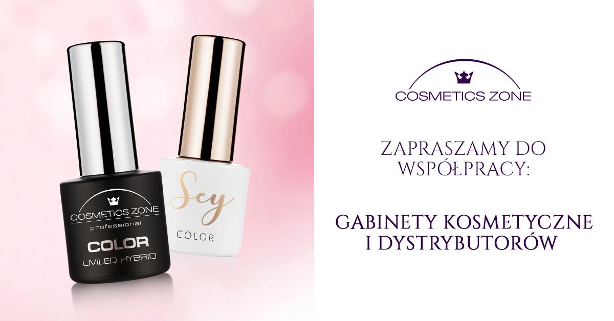 Cosmetics Zone Dystrybucja 664 542 384 www.lakieryhybrydowe.pl